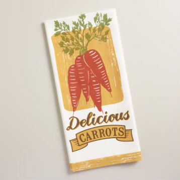 Carrots Kitchen Towel
